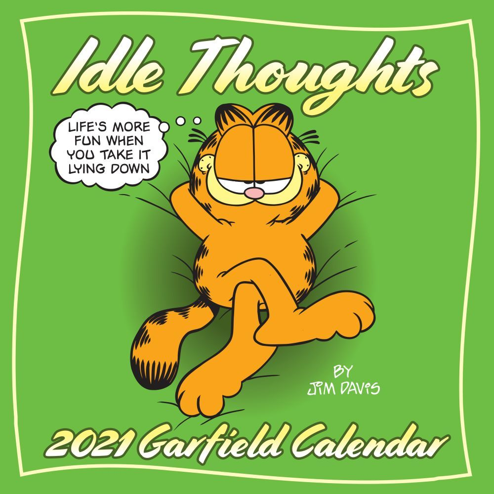 2021 Garfield Wall Calendar