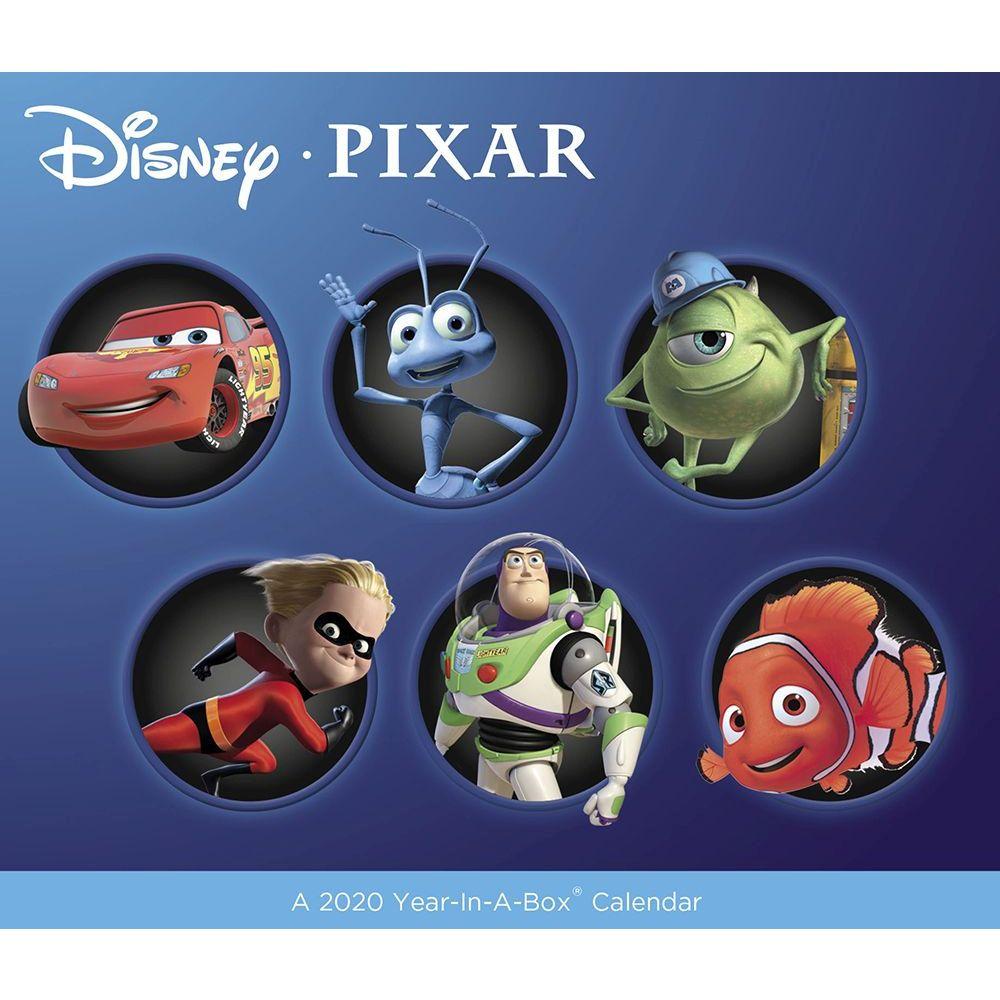 Disney Pixar 2021 Desk Calendar