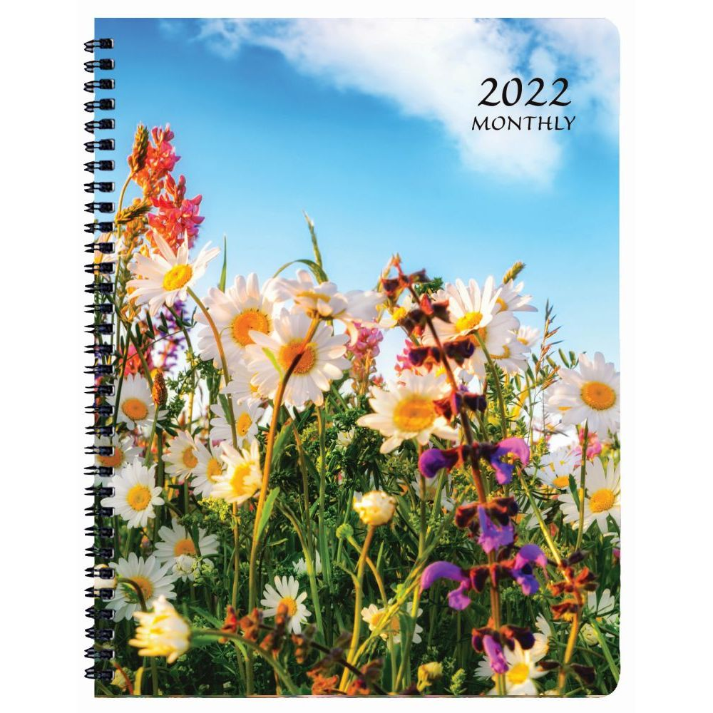 Floral 2022 Monthly Appointment Planner