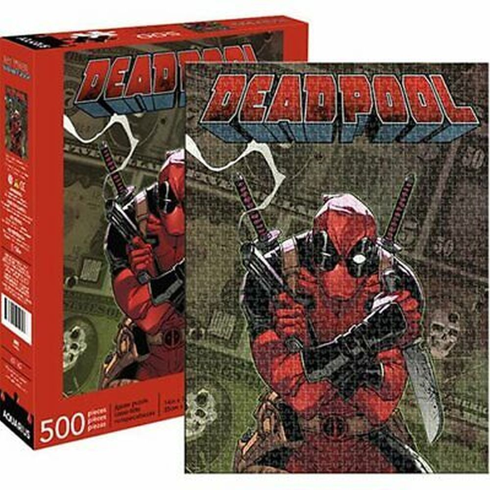 Best Deadpool Cover 500pc Puzzle You Can Buy