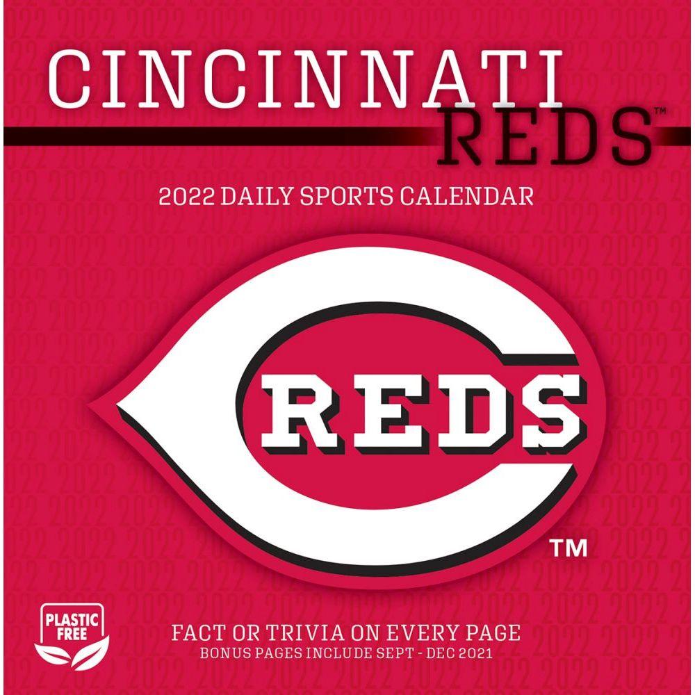 Cincinnati Reds 2022 Desk Calendar