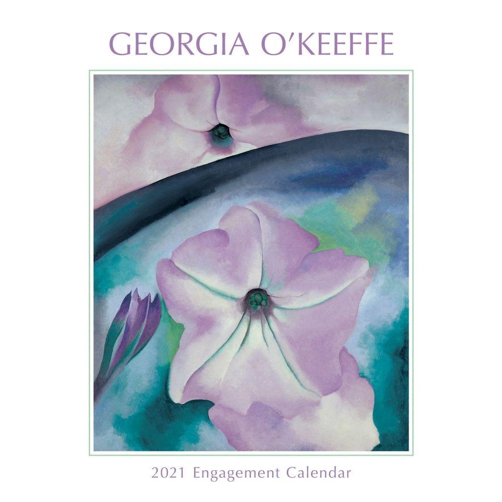 Georgia O'Keeffe 2021 Softcover Engagement Calendar