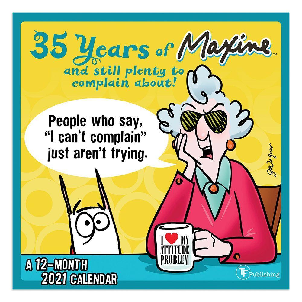 Maxine 2021 Mini Wall Calendar