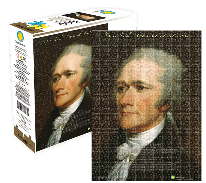 Best Smithsonian Hamilton As 1000pc Puzzle You Can Buy
