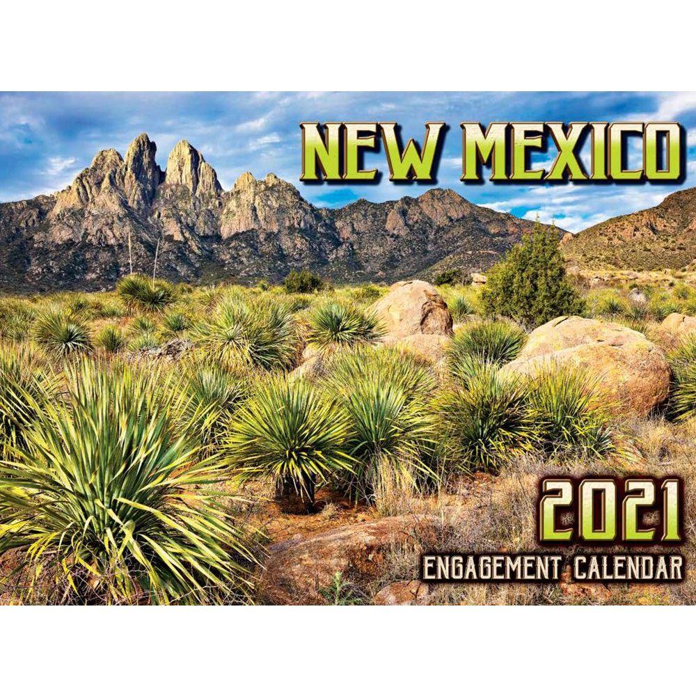 2021 New Mexico Wall Calendar