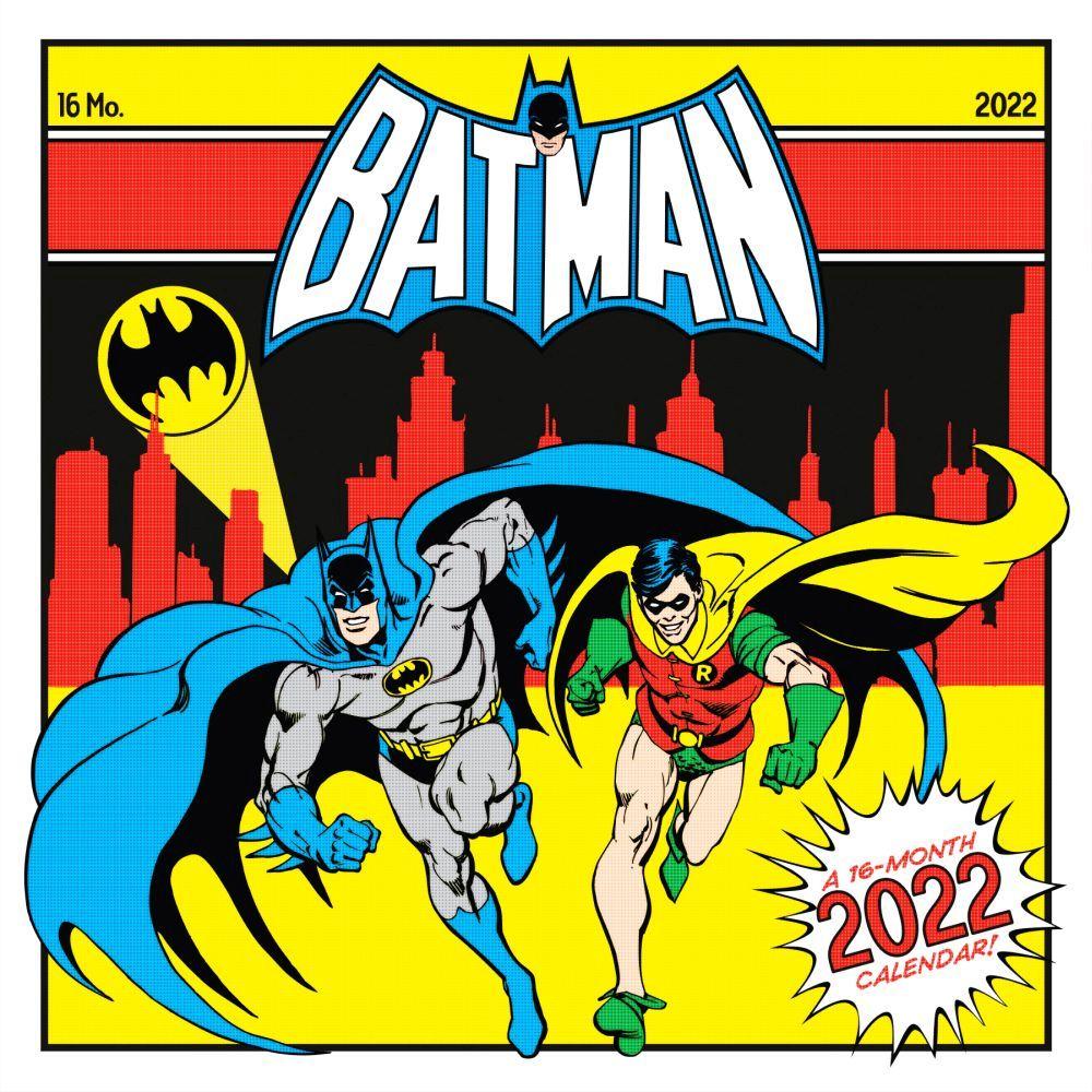 Batman 2022 Wall Calendar