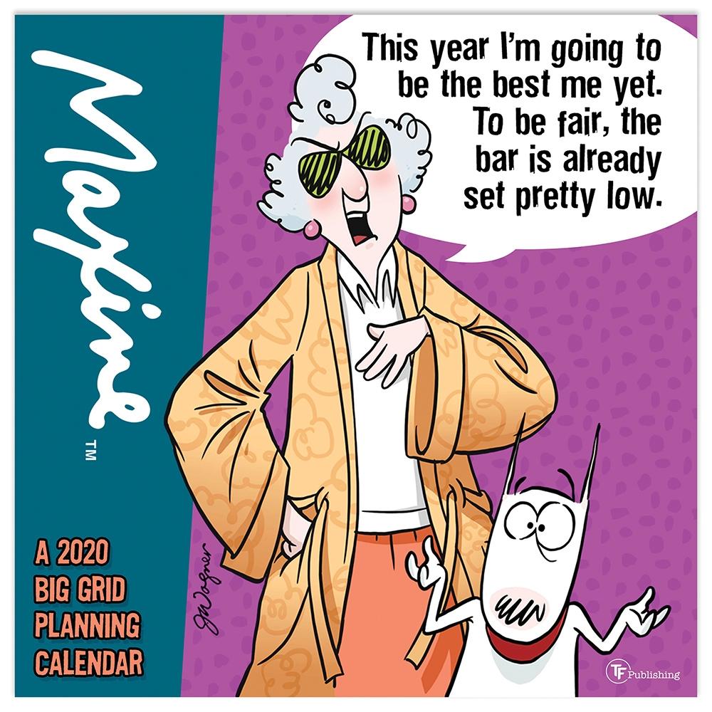 Maxine Planning 2021 Wall Calendar