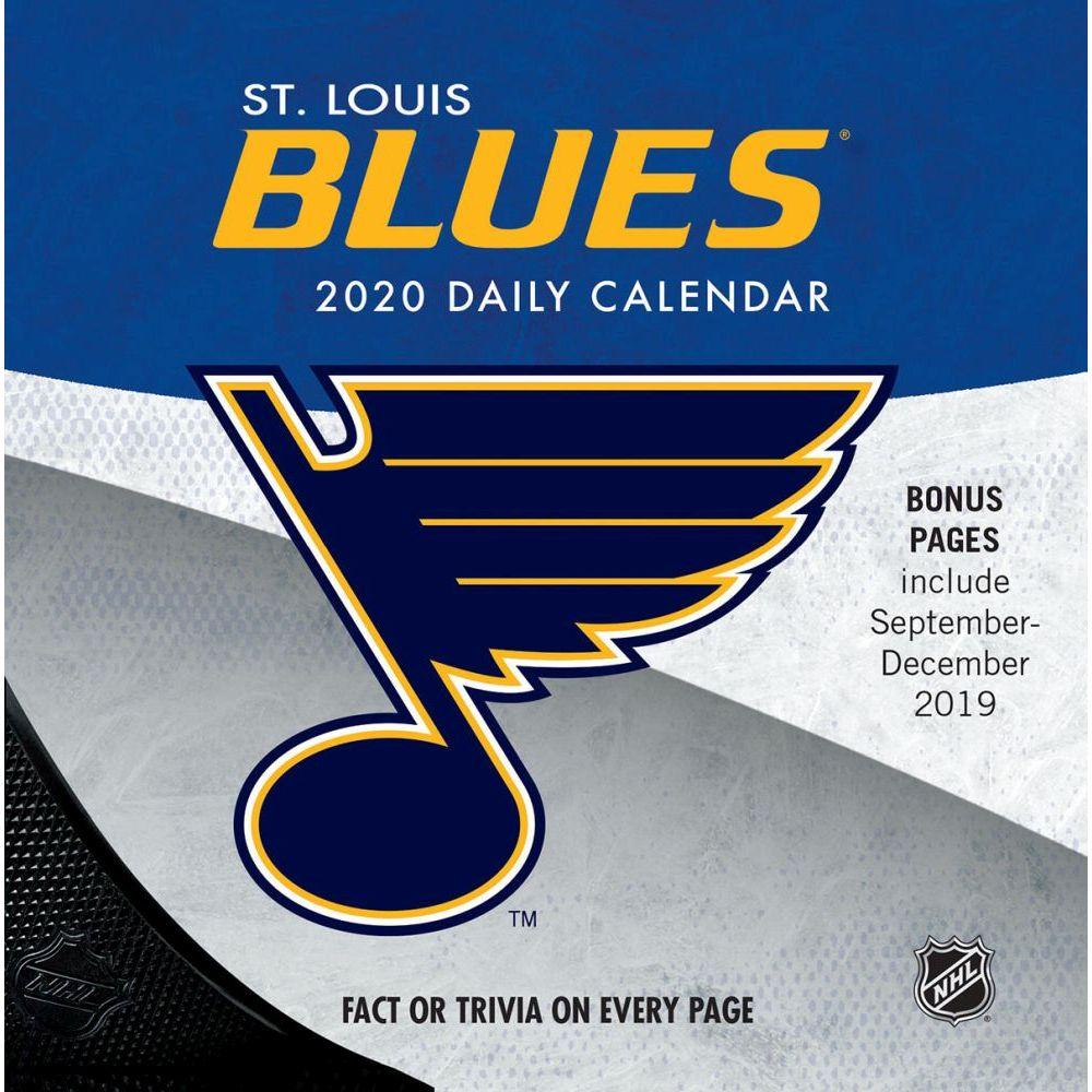 St. Louis Blues 2021 Desk Calendar