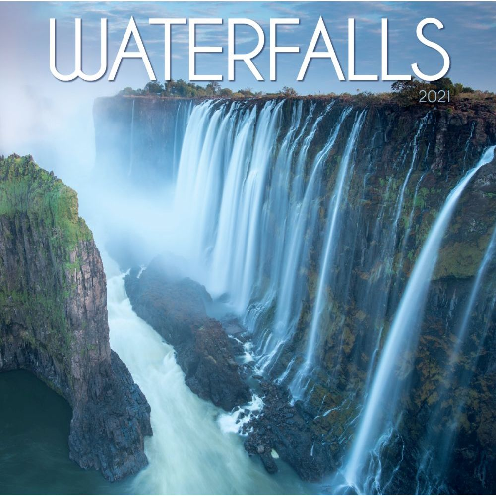 2021 Waterfalls Mini Wall Calendar