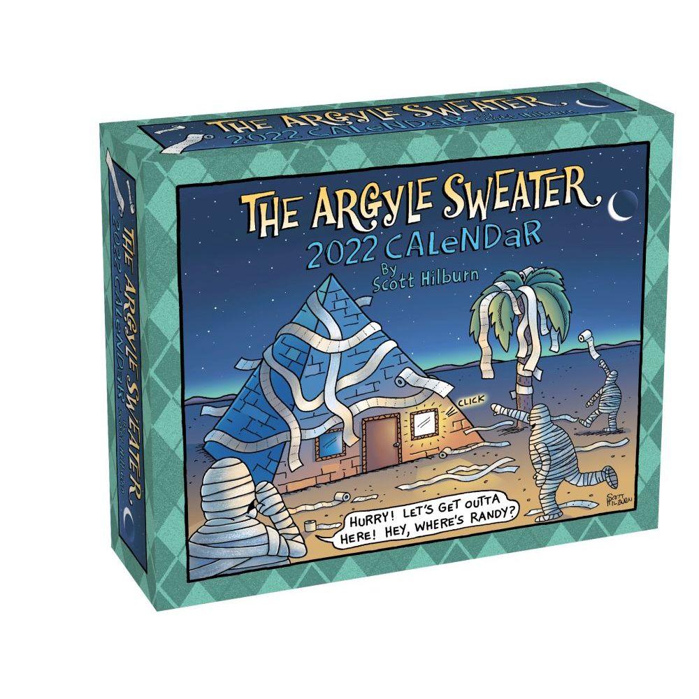 Argyle Sweater 2022 Day-to-Day Calendar