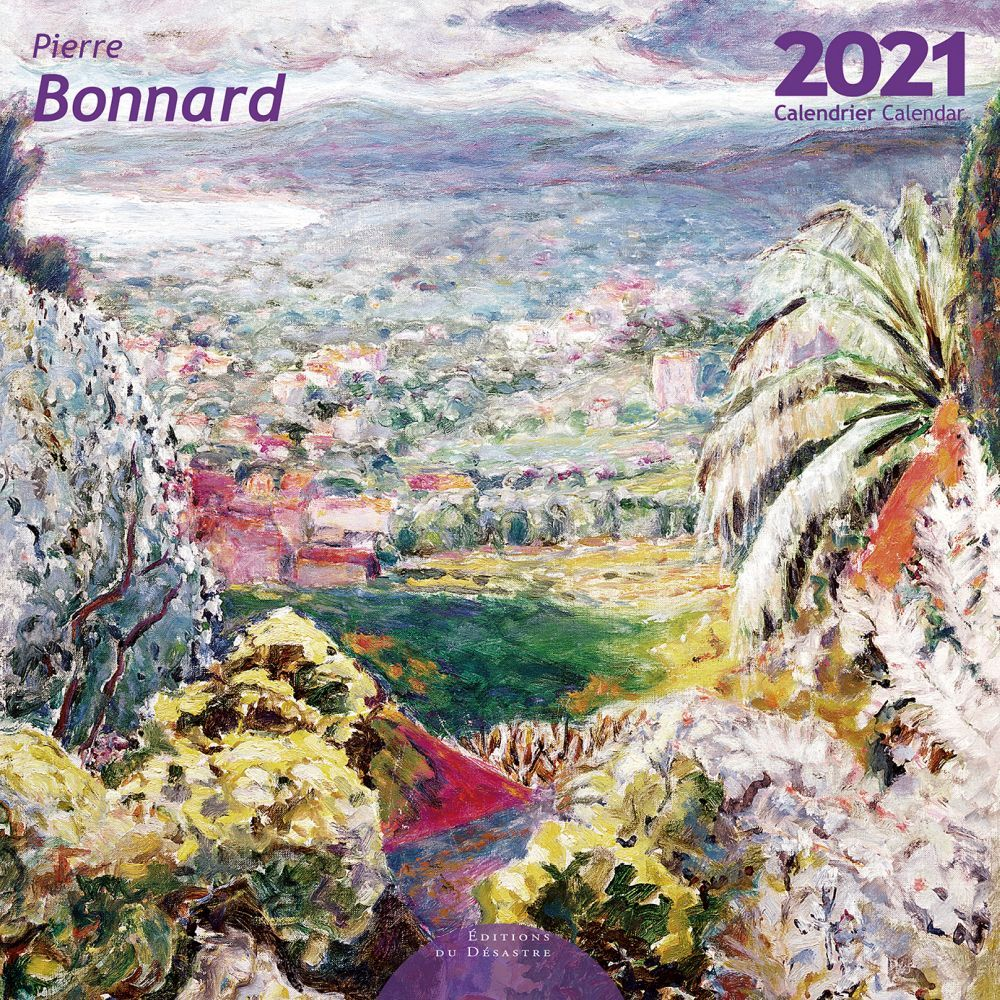 2021 Bonnard EdD Wall Calendar