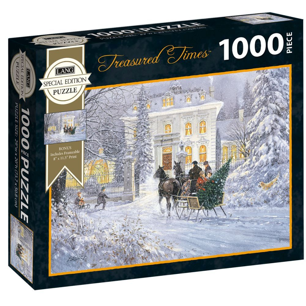Best Treasured Times Special Edition 1000pc Puzzle You Can Buy
