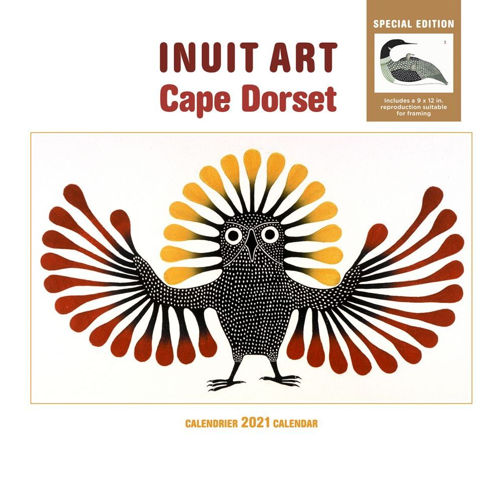 2021 Inuit Art Cape Dorset Special Edition Wall Calendar