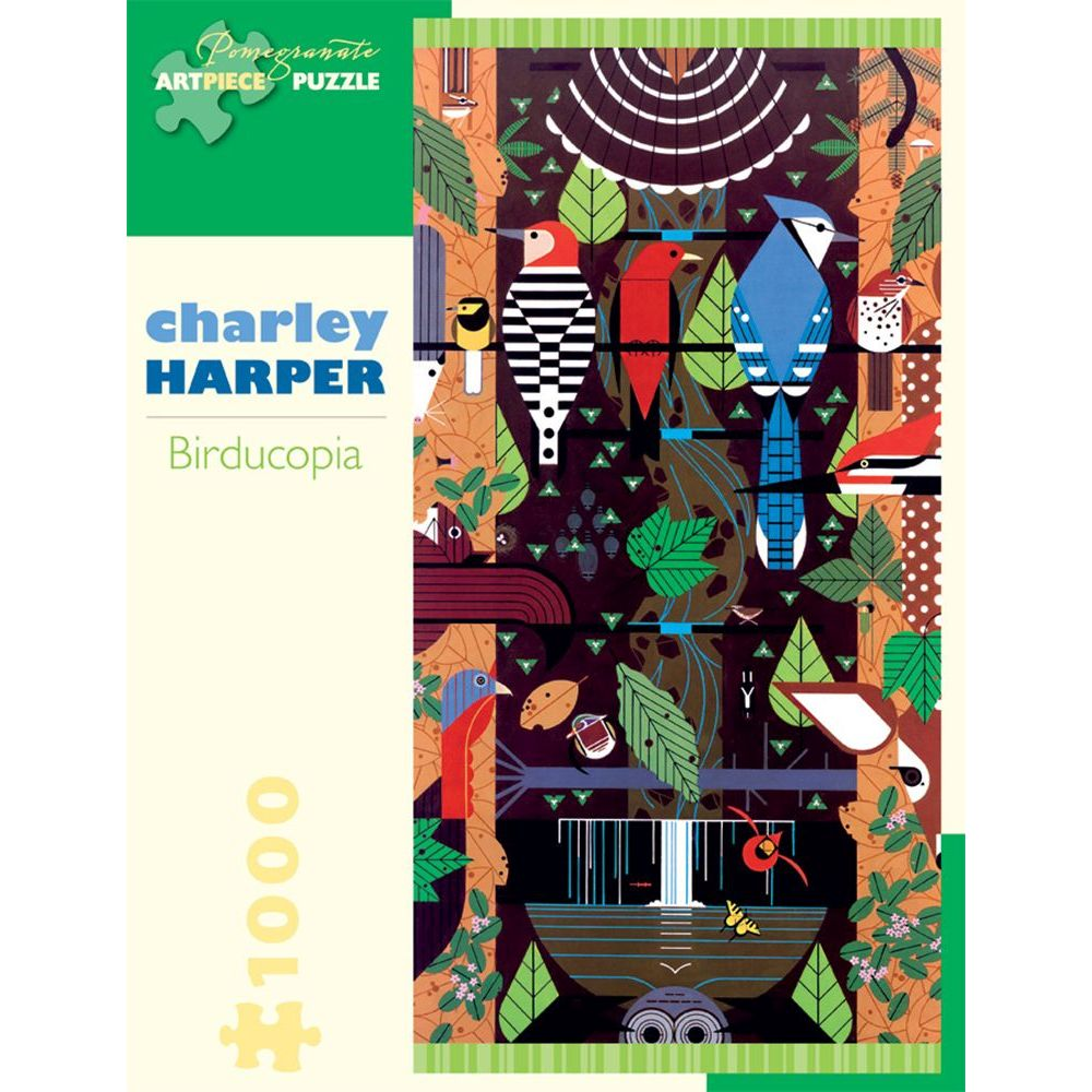 Best Charley Harper Birducopia 1000 pc Puzzle You Can Buy