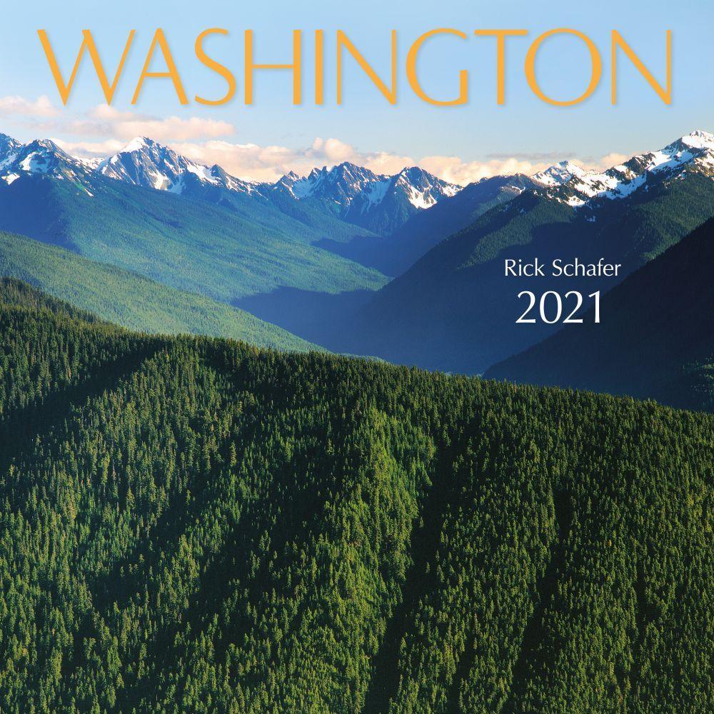 2021 Washington Protege Wall Calendar