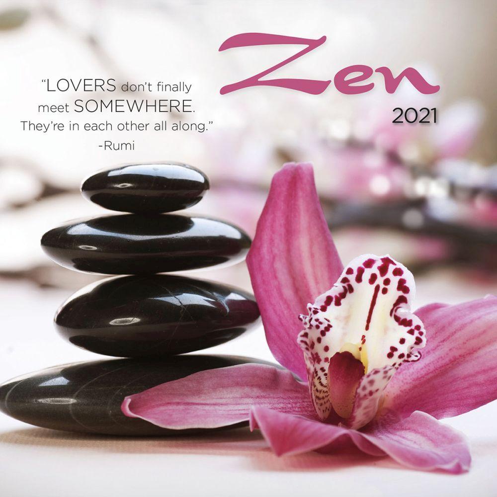 2021 Zen Photo Mini Wall Calendar