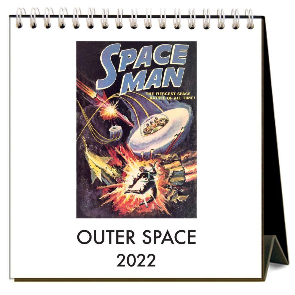 Outer Space 2022 Easel Calendar