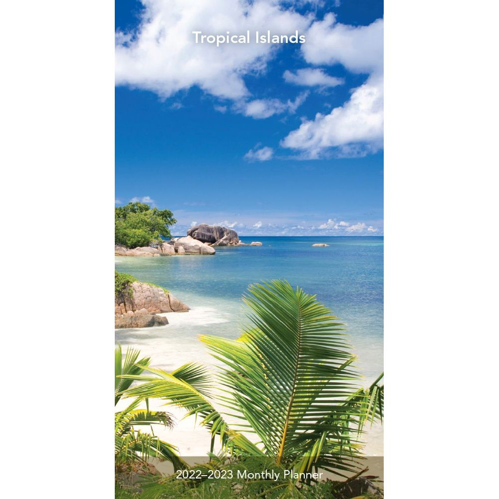 Tropical Islands 2022 Two Year Pocket Planner