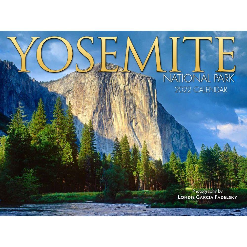 Yosemite 2022 Wall Calendar