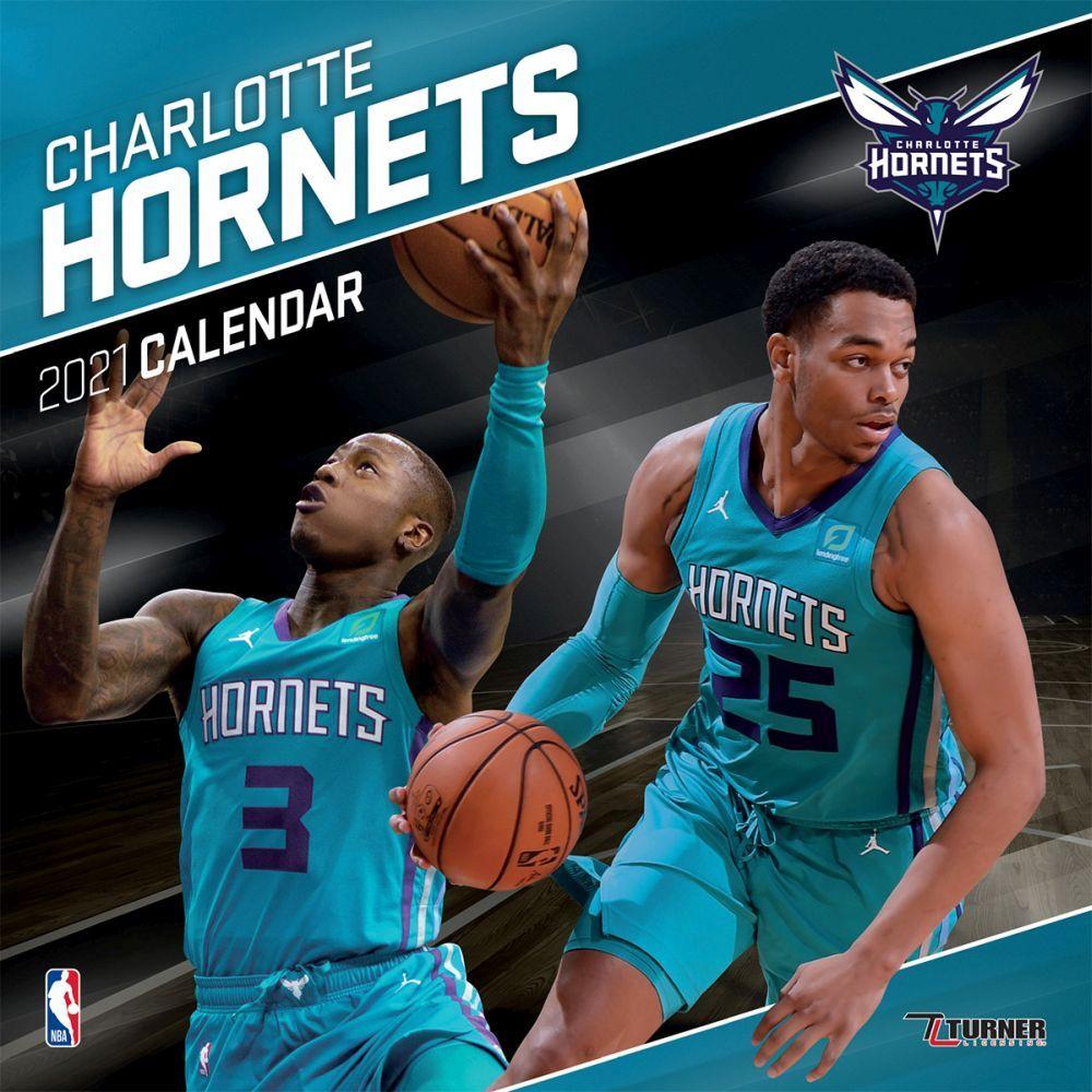2021 Charlotte Hornets Team Wall Calendar
