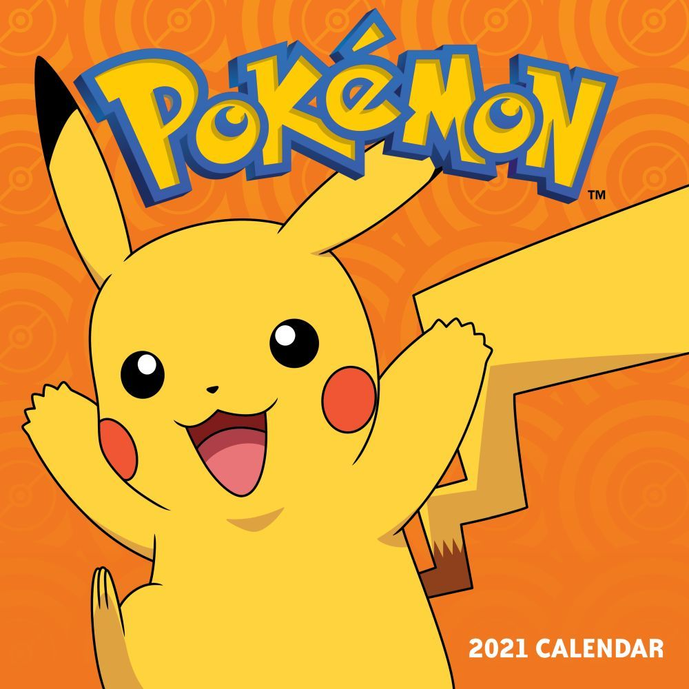 Pokemon 2021 Wall Calendar