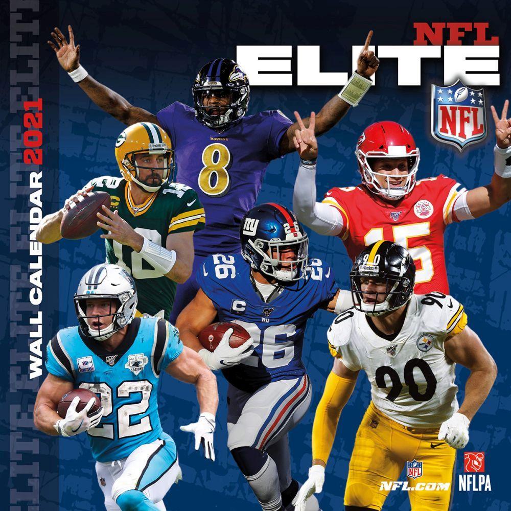 2021 NFL All Stars Wall Calendar