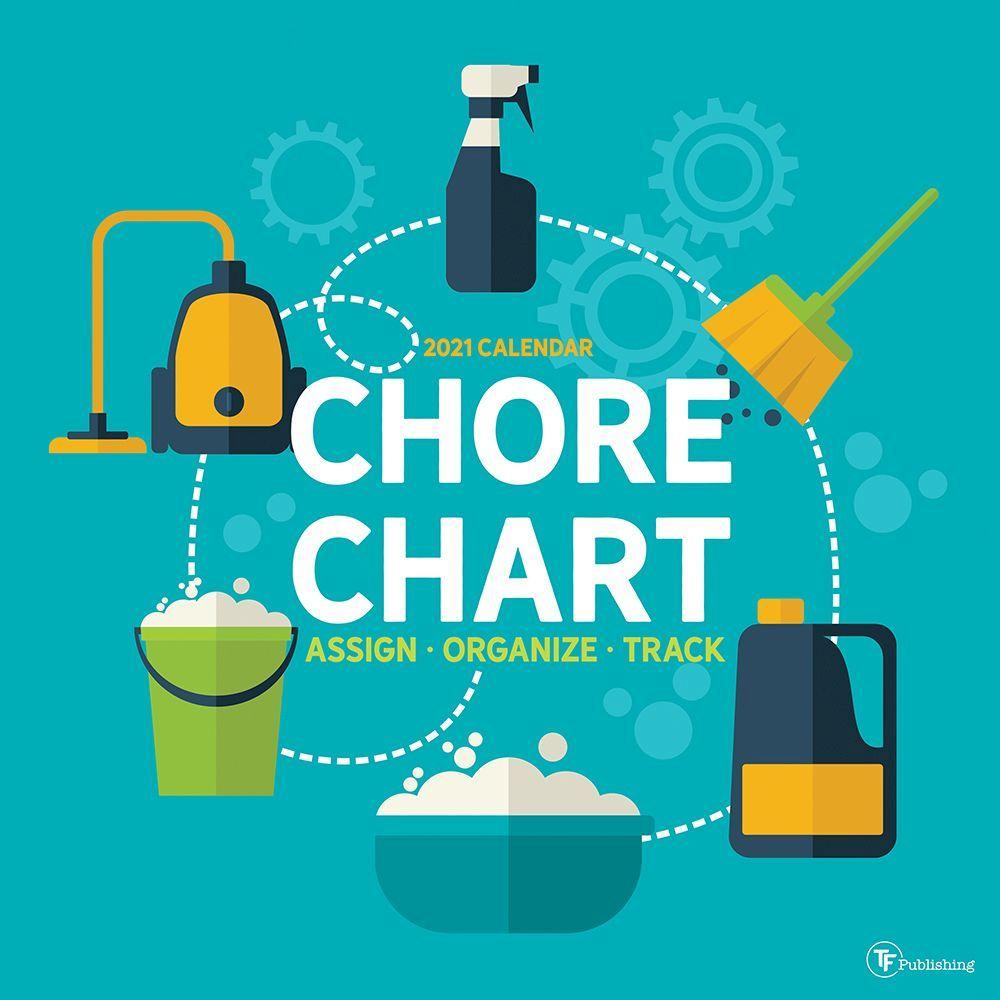 2021 Chore Chart Wall Calendar