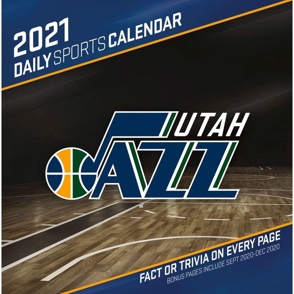 NBA Utah Jazz 2021 Desk Calendar