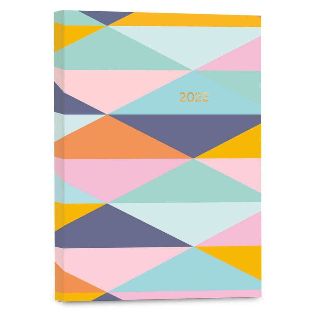 Geomtric Soft Cover High Note 2022 Planner