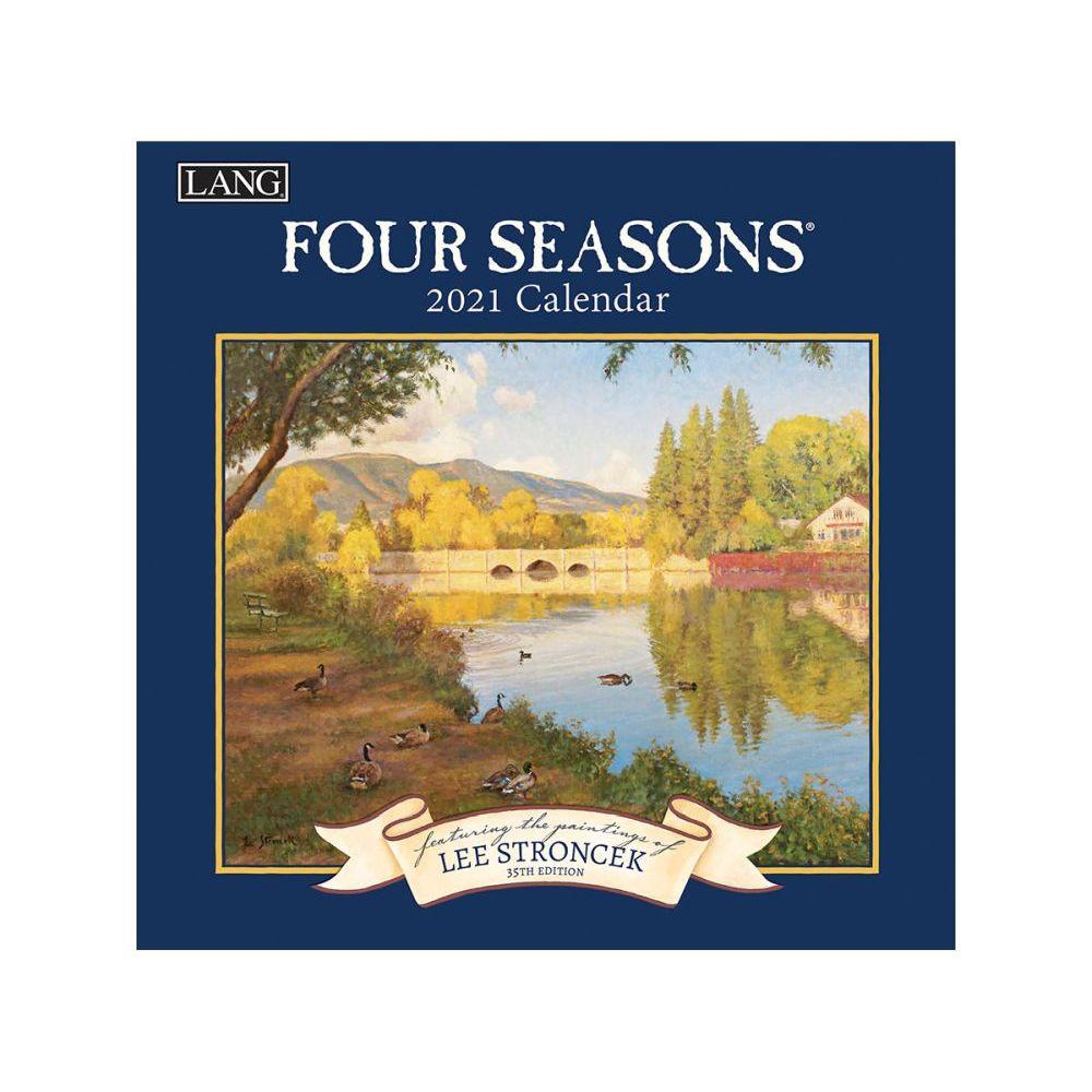 2021 Four Seasons Mini Wall Calendar by Lee Stroncek