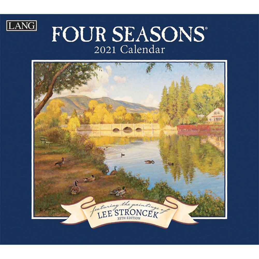 2021 Four Seasons Wall Calendar by Lee Stroncek