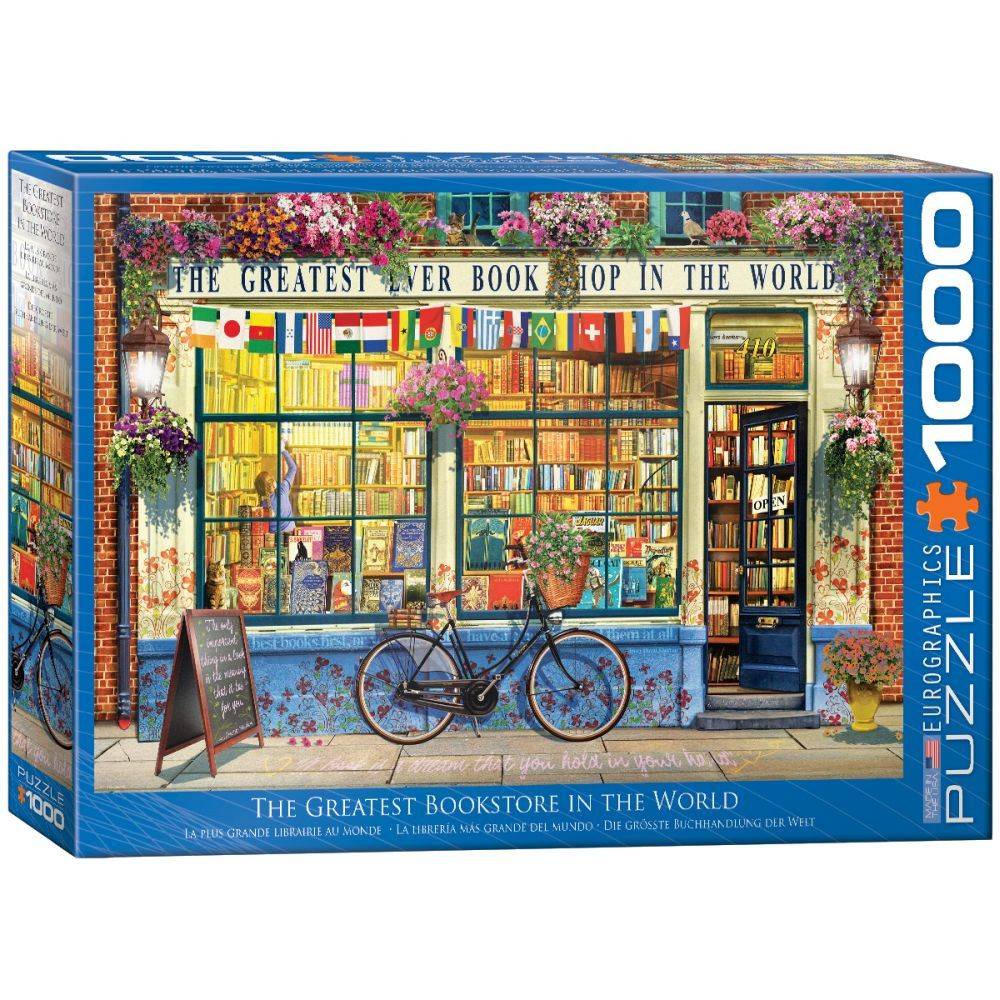 Best Greatest Bookstore in the World 1000pc Puzzle You Can Buy