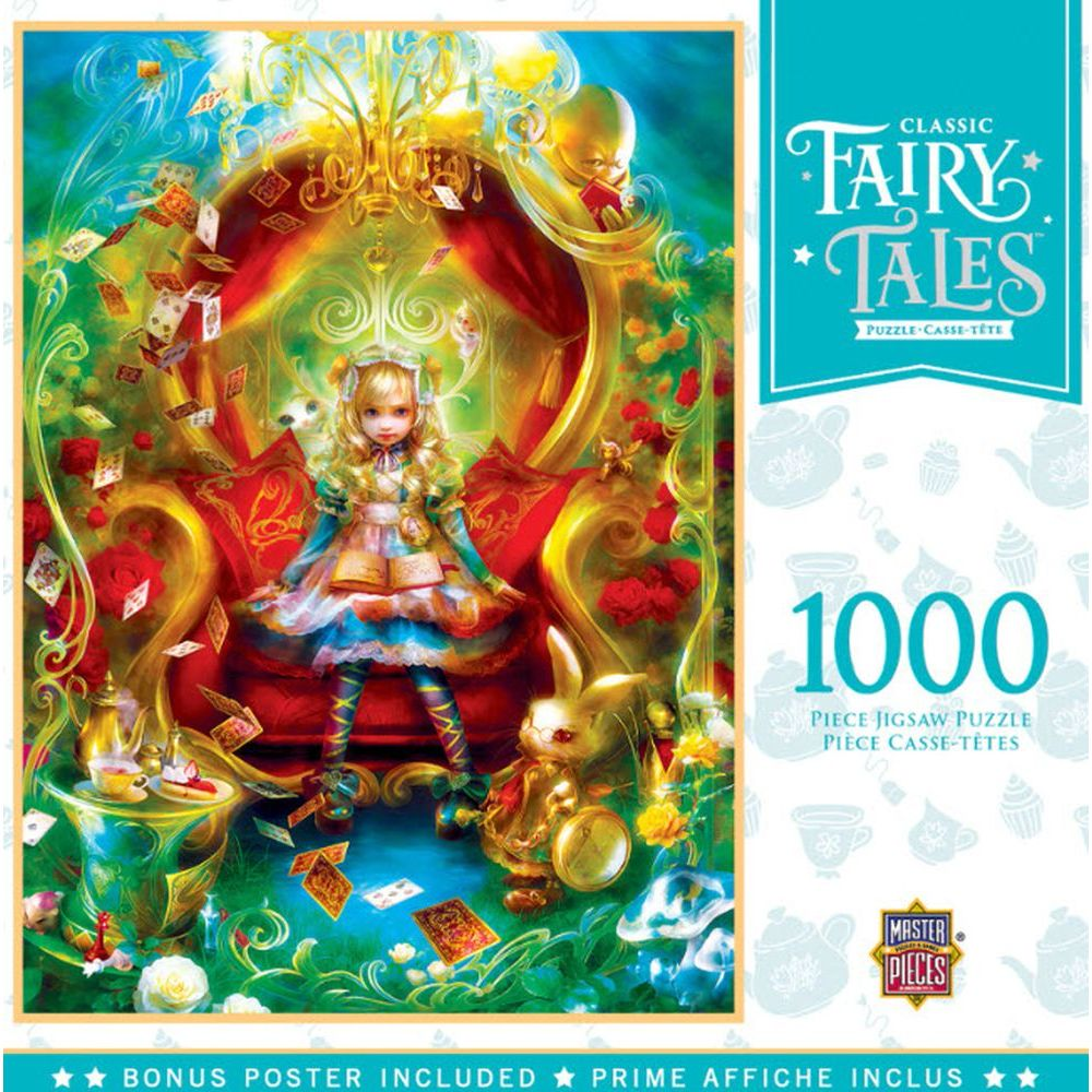 Best Alice Fairytale 1000pc Puzzle You Can Buy