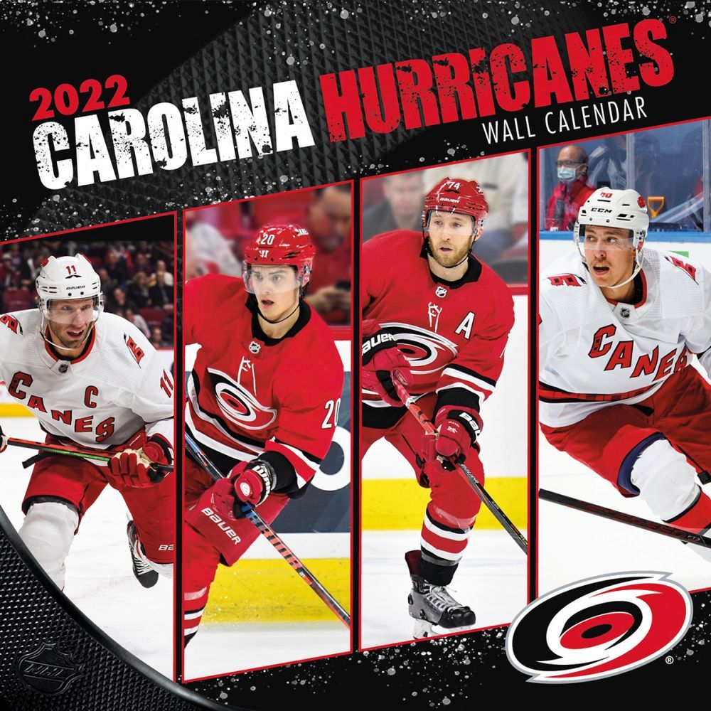 Carolina Hurricanes 2022 Wall Calendar