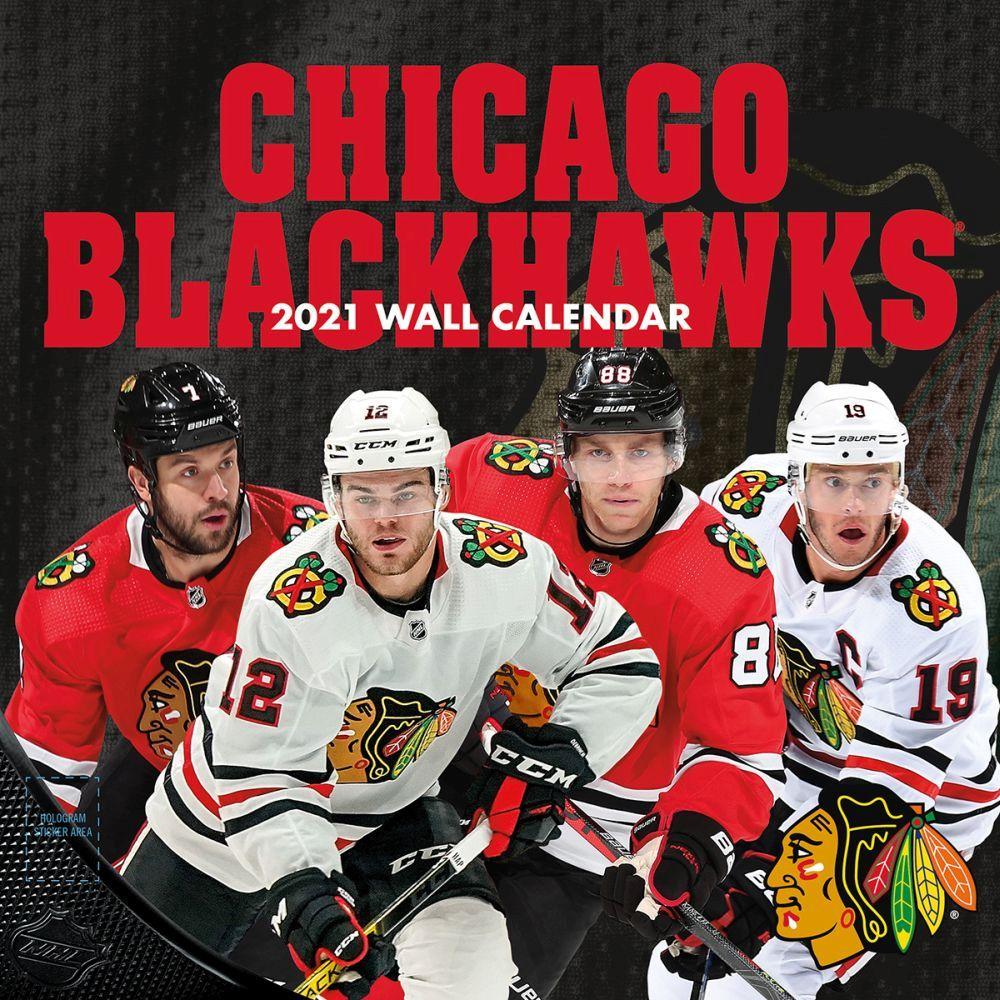 2021 Chicago Blackhawks Wall Calendar