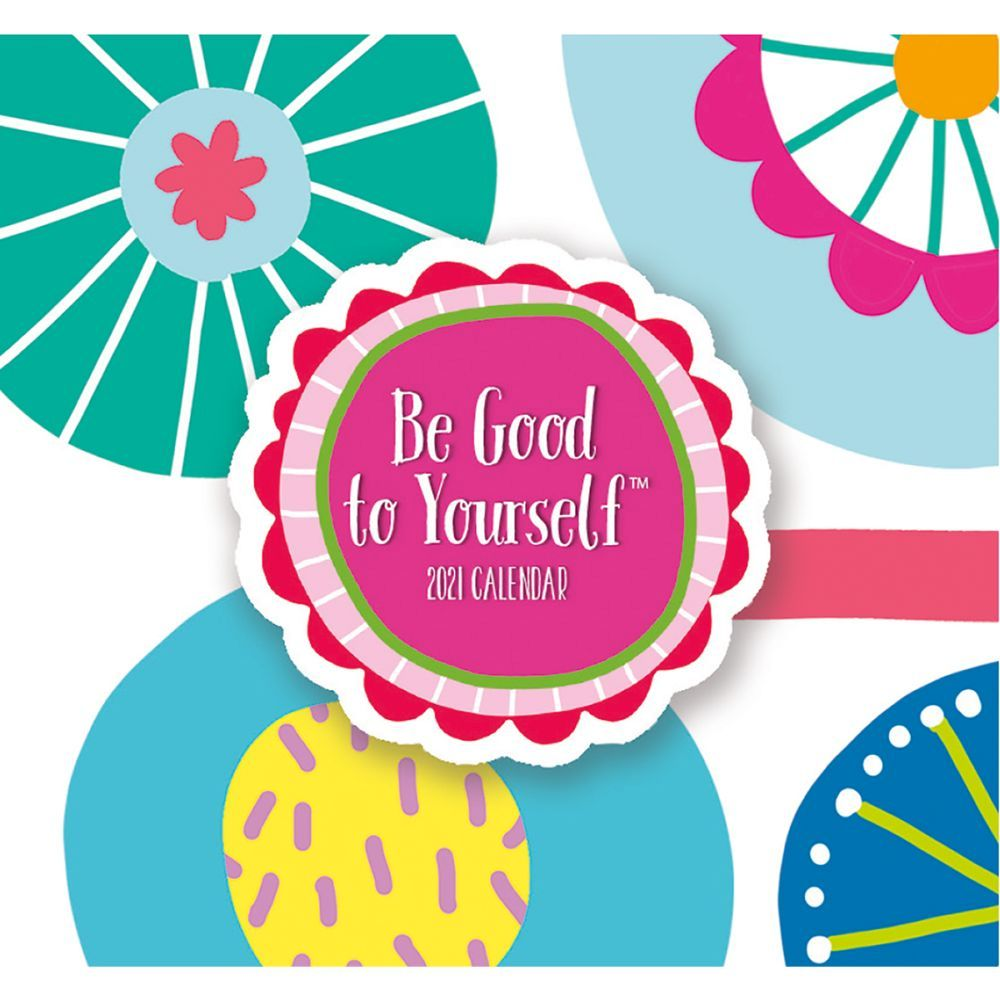 2021 Be Good to Yourself 365 Daily Thoughts Desk Calendar by Eliza Todd