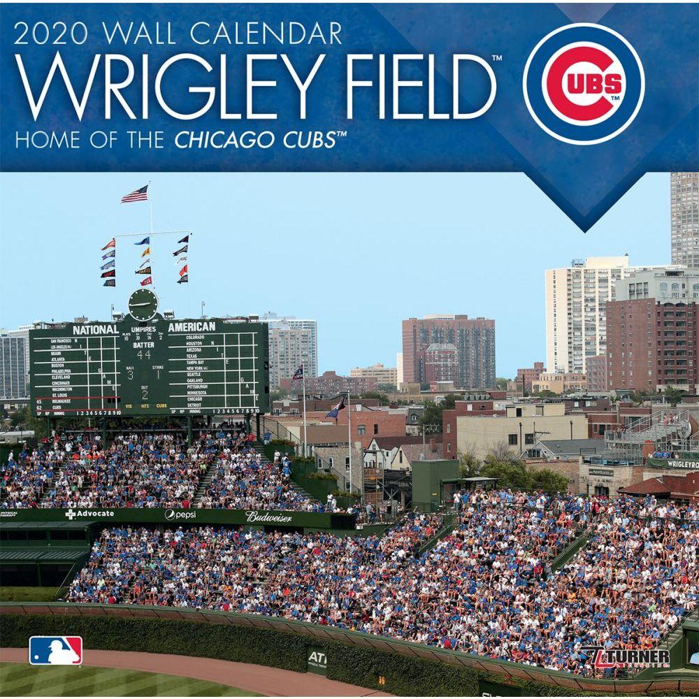 Wrigley Field Chicago 2021 Wall Calendar