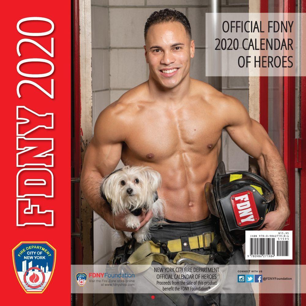 FDNY Men Heroes 2021 Wall Calendar