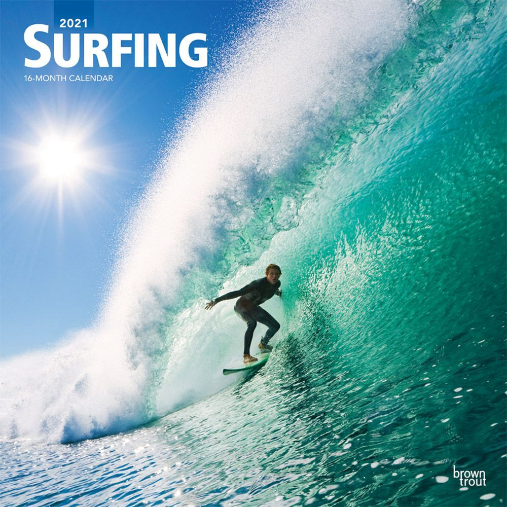 Best 2021 Surfers Wall Calendar