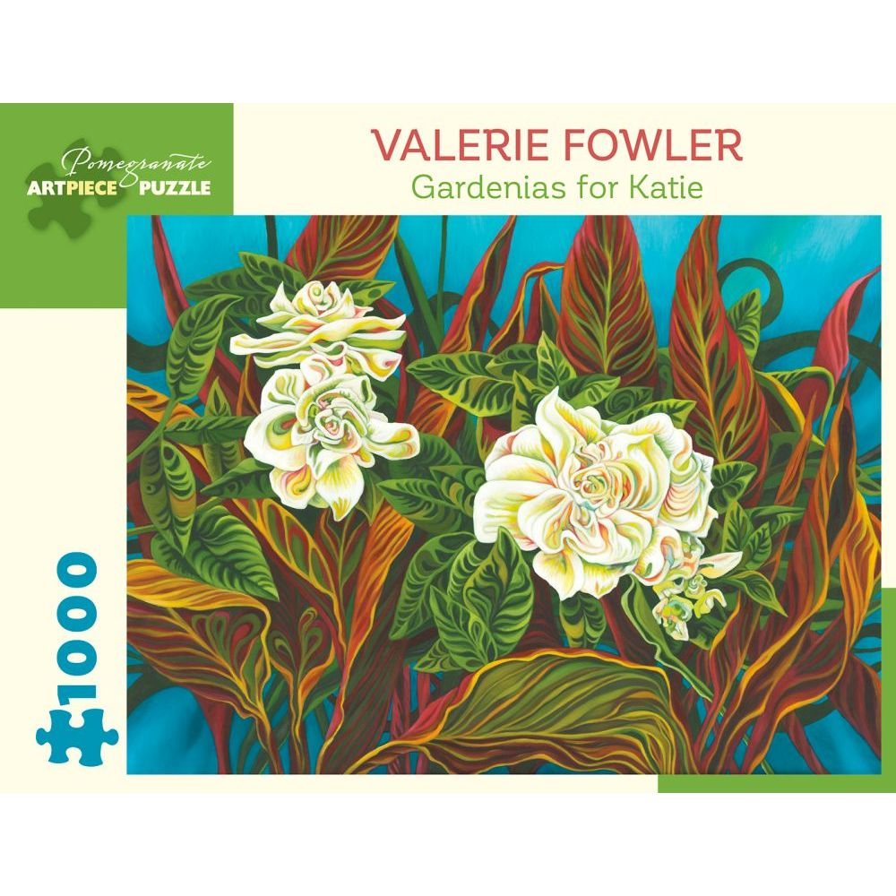 Best Valerie Fowler Gardenias for Katie 1000pc Puzzle You Can Buy