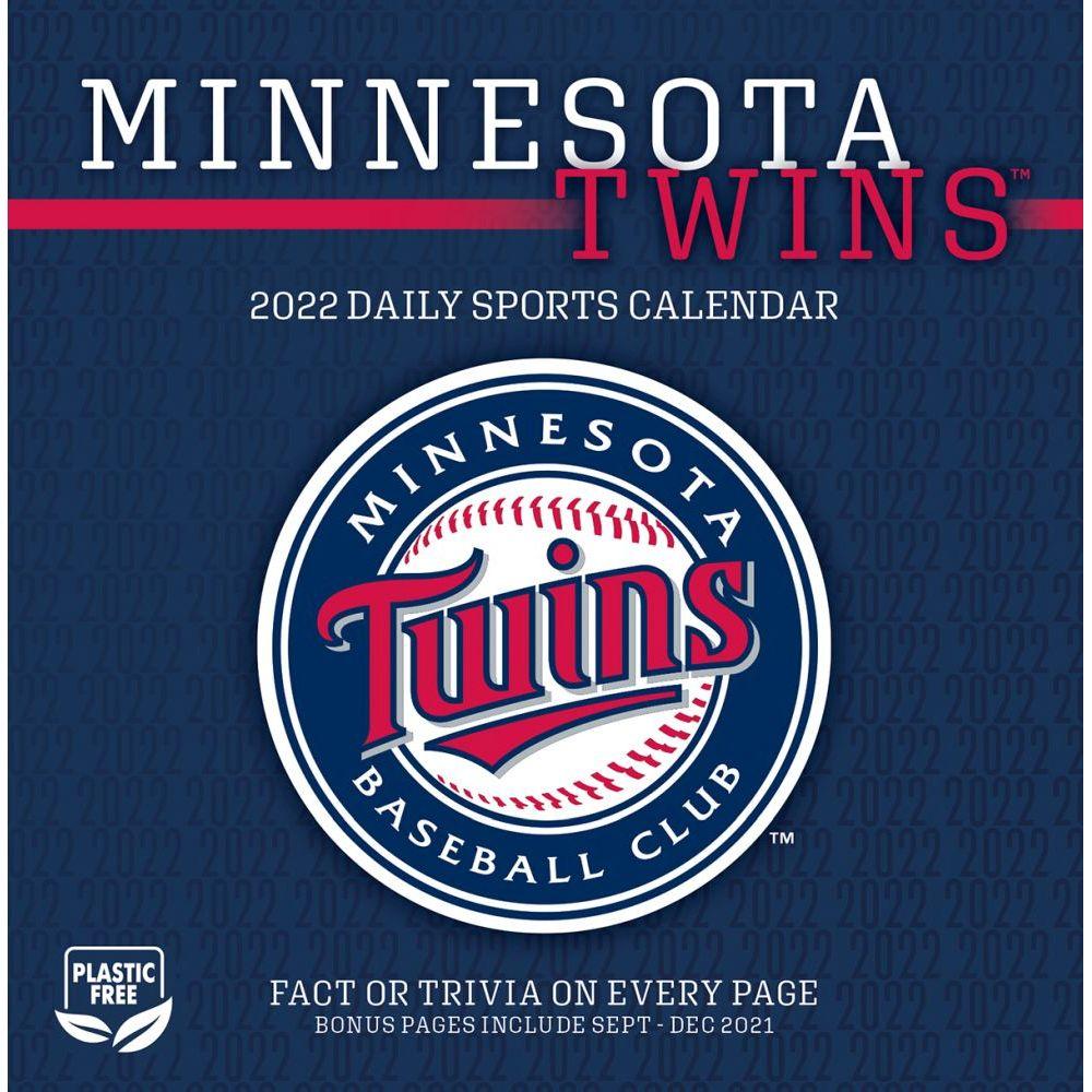 Minnesota Twins 2022 Desk Calendar