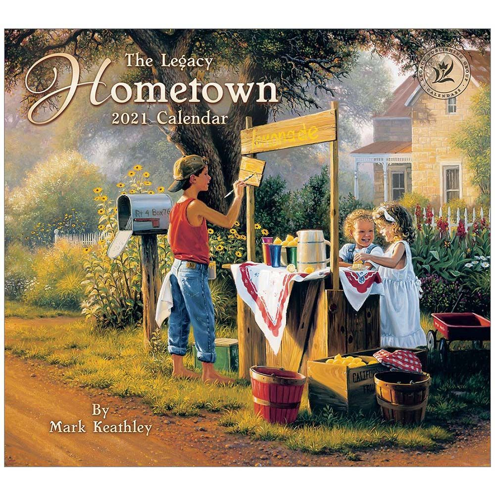 2021 Hometown Wall Calendar