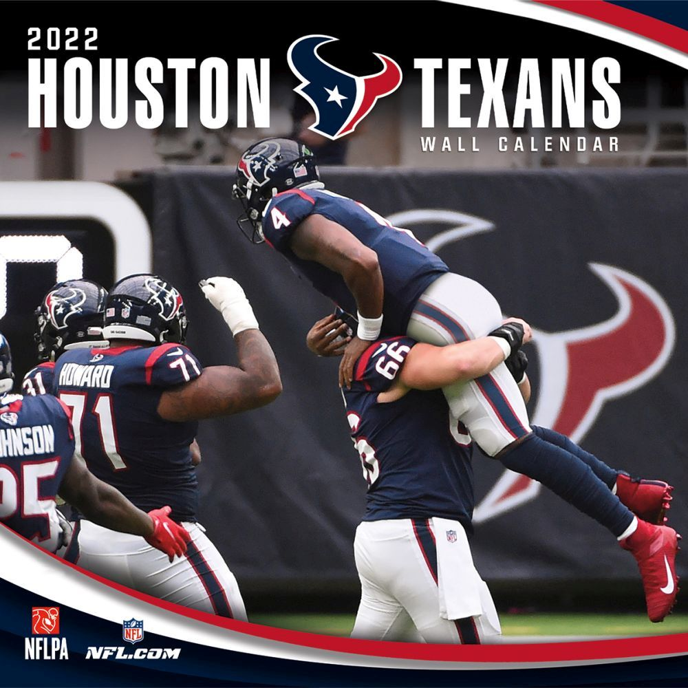 Houston Texans 2022 Wall Calendar