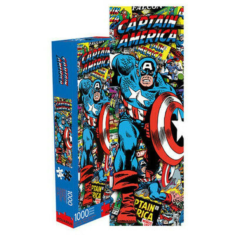 Best Captain America Slim 1000pc Puzzle You Can Buy