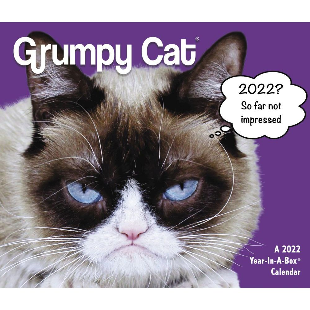 Grumpy Cat 2022 Desk Calendar