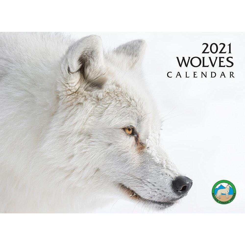 2021 Wolves Wall Calendar