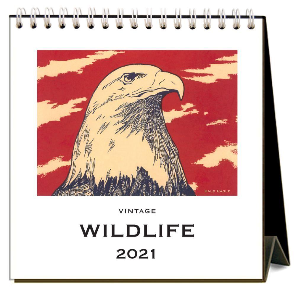2021 Wildlife Easel Calendar
