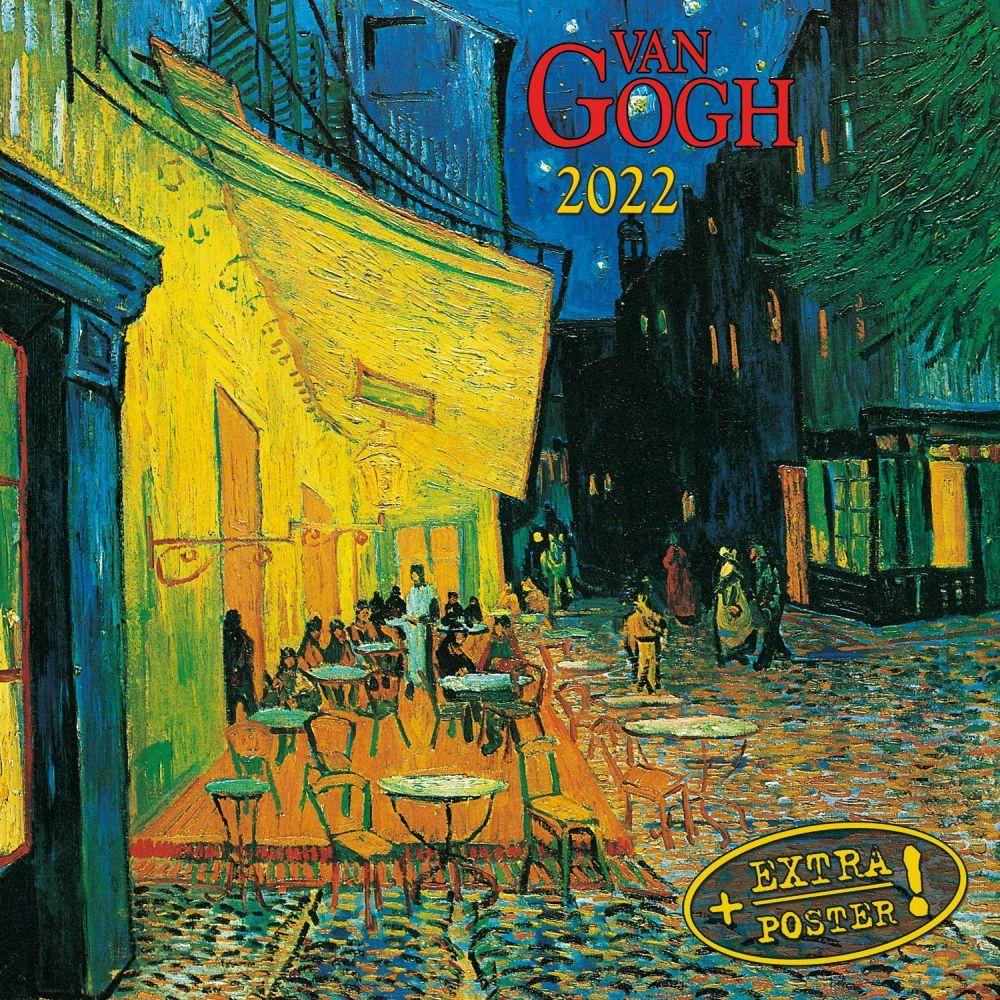 Vincent Van Gogh 2022 Small Wall Calendar