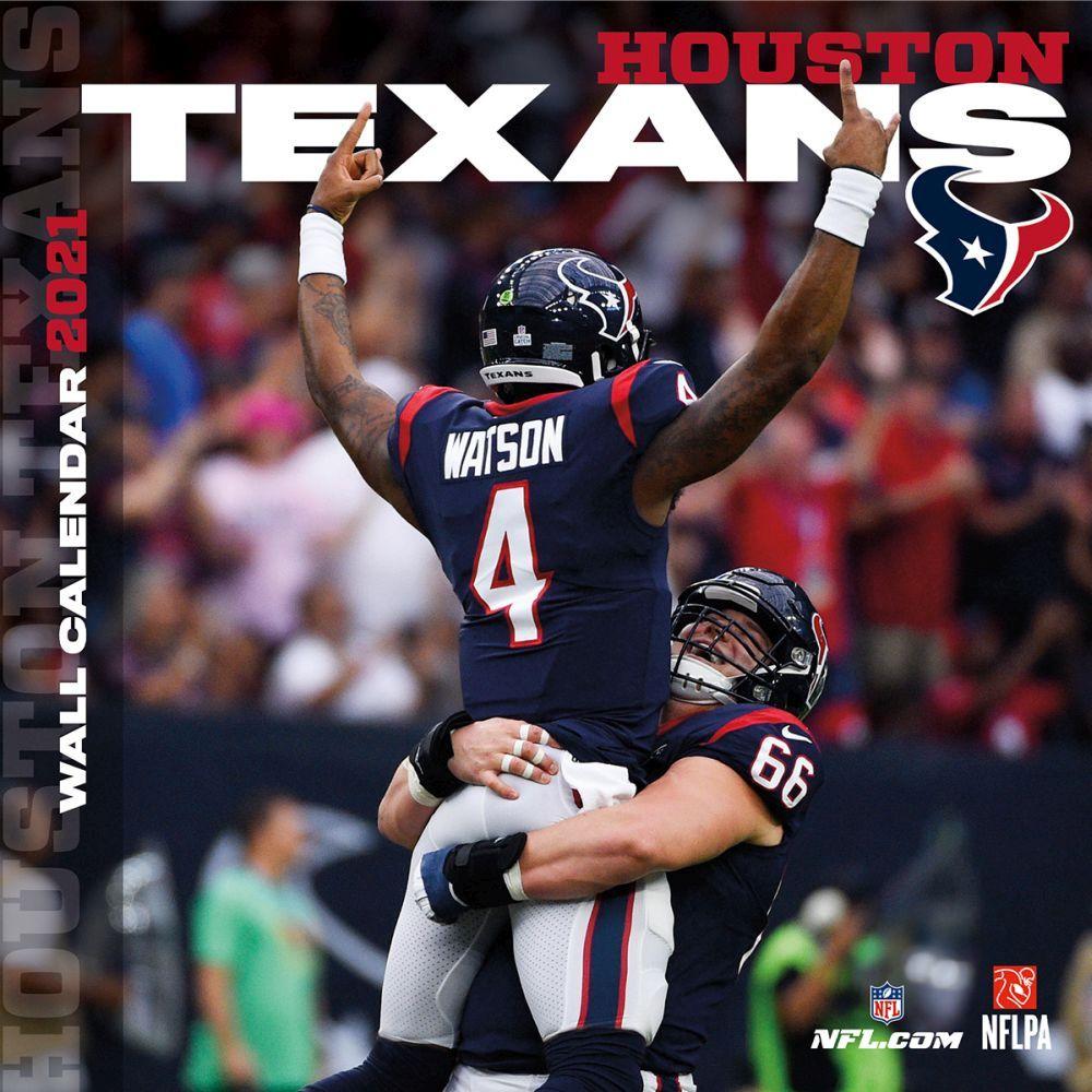 Houston Texans 2021 Wall Calendar