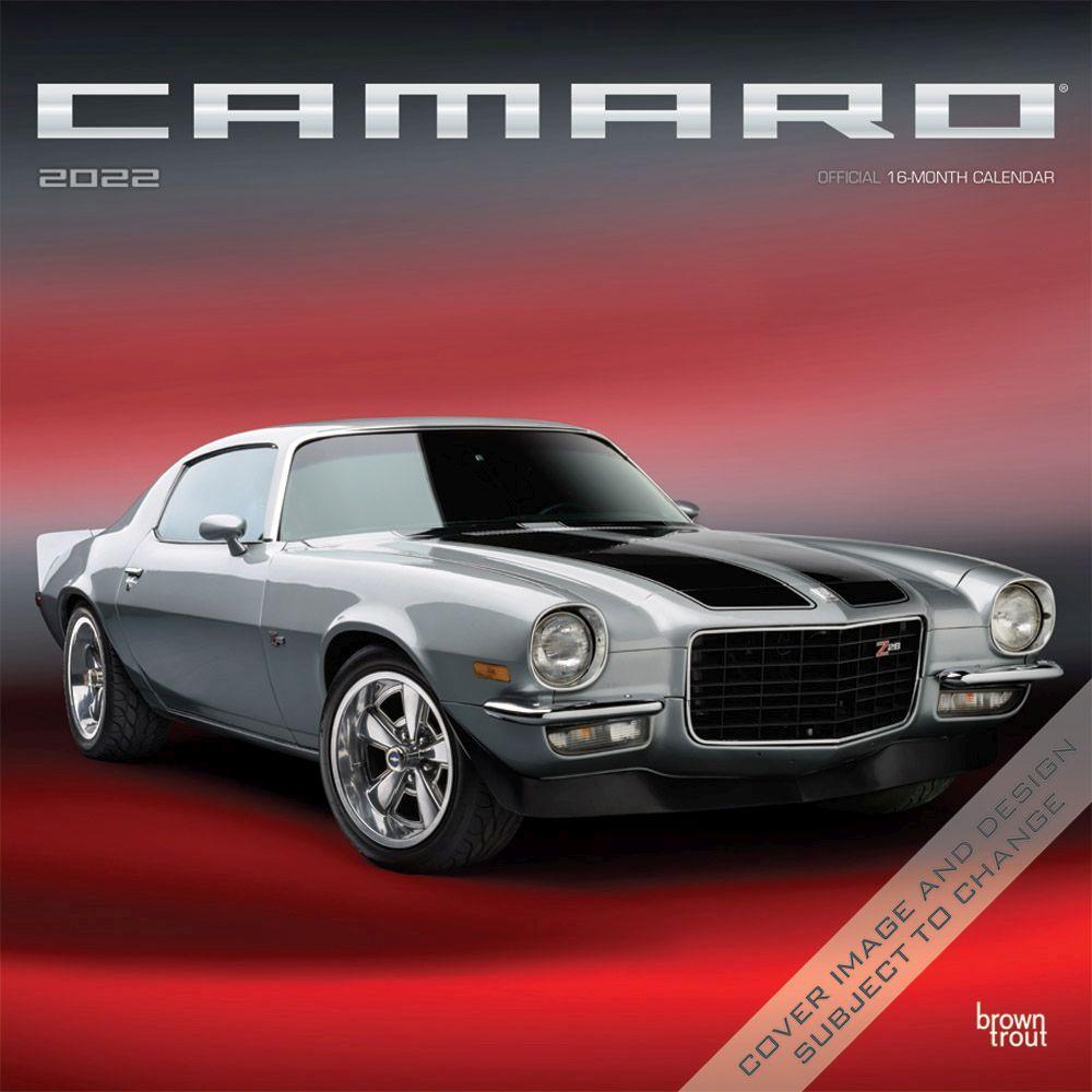 Camaro 2022 Wall Calendar